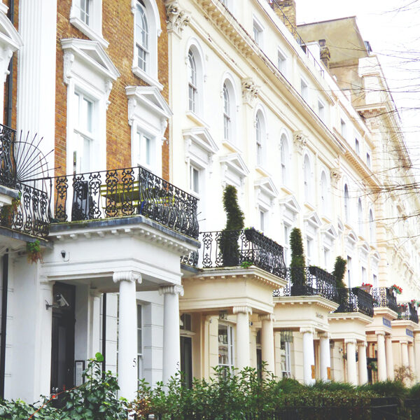 Increase in house prices in London